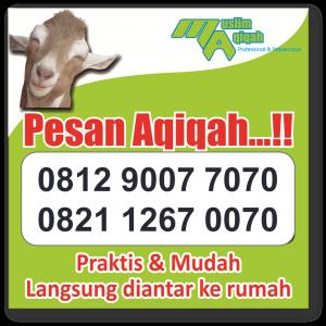 Layanan Jasa Aqiqah di Wilayah Cipondoh Tangerang